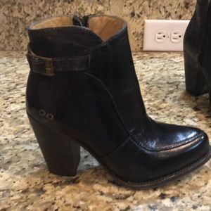 Brand new Bed Stu black ankle boots